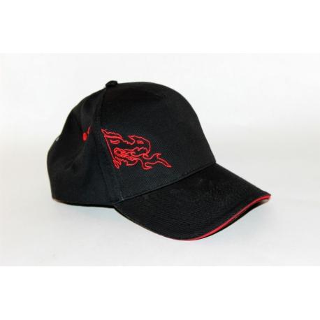 Base Cap - thin red frame